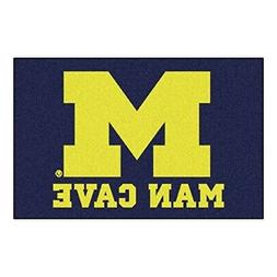 FANMATS 14668 University of Michigan Nylon Universal Man Cav