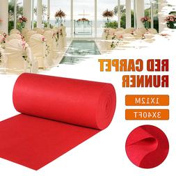 40ftX3ft Large Red Carpet Wedding Hollywood Party Aisle Floo