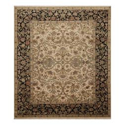 "7'11"" x 10'2"" Hand Knotted 100% Wool Agra Oriental Area Rug"