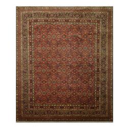 "8' x 9'9"" Hand Knotted 100% Wool 300 KPSI Oriental Area Rug"