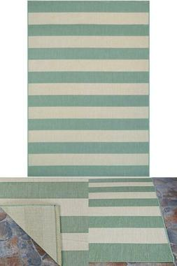 Afuera Yacht Club Sea Mist-Ivory 2 ft. x 4 ft. Indoor/Outdoo