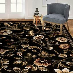 """Home Dynamix  Amell Area Rug 7'8"""" x10'4, Traditional Area Ru"""