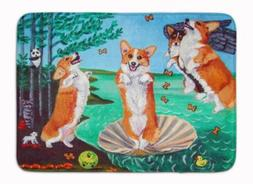 "Caroline's Treasures 7319RUG Corgi Birth of Venus 19 X 27"","