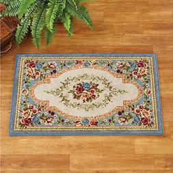 charming classic estate rose tufted accent rug