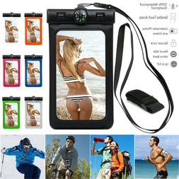 Waterproof Dry Bag Swimming Case Pouch Compass For Cell Phon