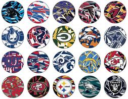 FANMATS Custom NFL Round Abstract Area Rug Mat xFIT  - 32 Te
