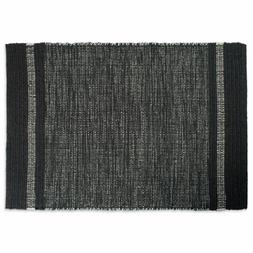 Design Imports DII Varigated Gray Recycled Yarn Rug Indoor O