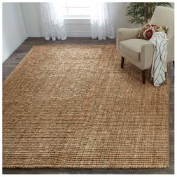 Safavieh Hand woven Natural Carpet Fiber Jute Area Rug Decor