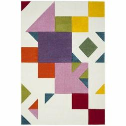 """Safavieh Hollywood 2' 7"""" X 5' Rug in Ivory and Rose"""