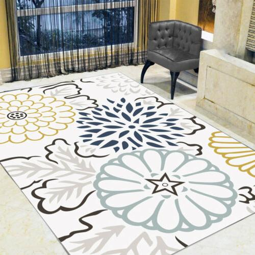Contemporary Room Carpet Floor Rug