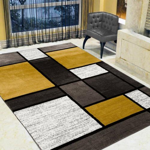 Contemporary Modern Soft Area Rugs Room Carpet Rug