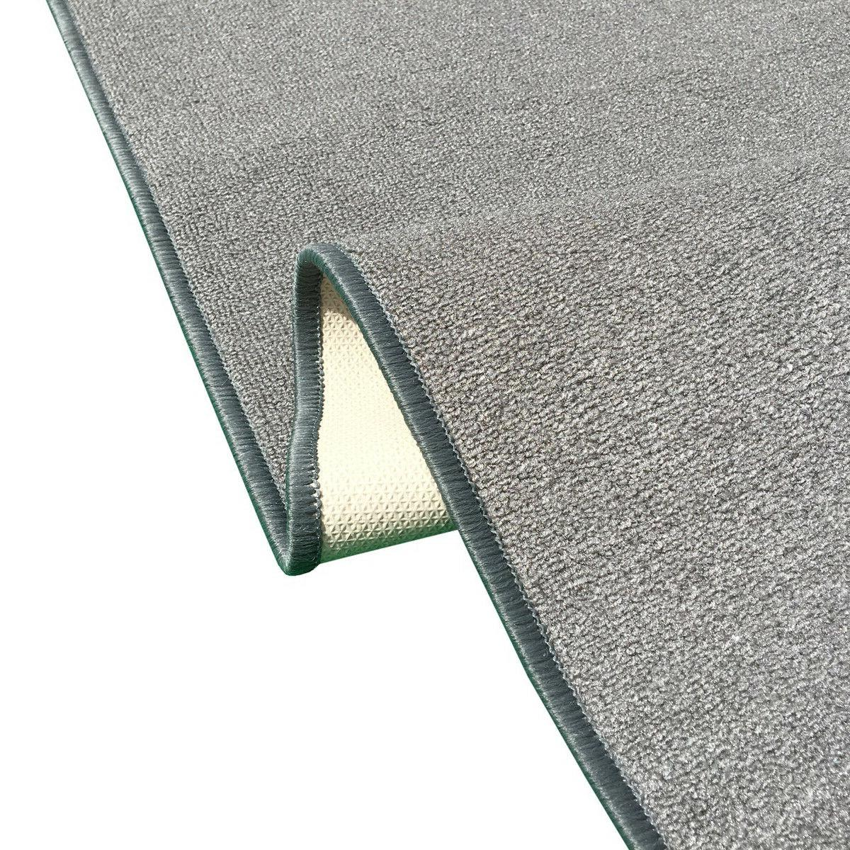 Custom Size SOLID Stair Hallway Rug Non Slip Rubber GRAY
