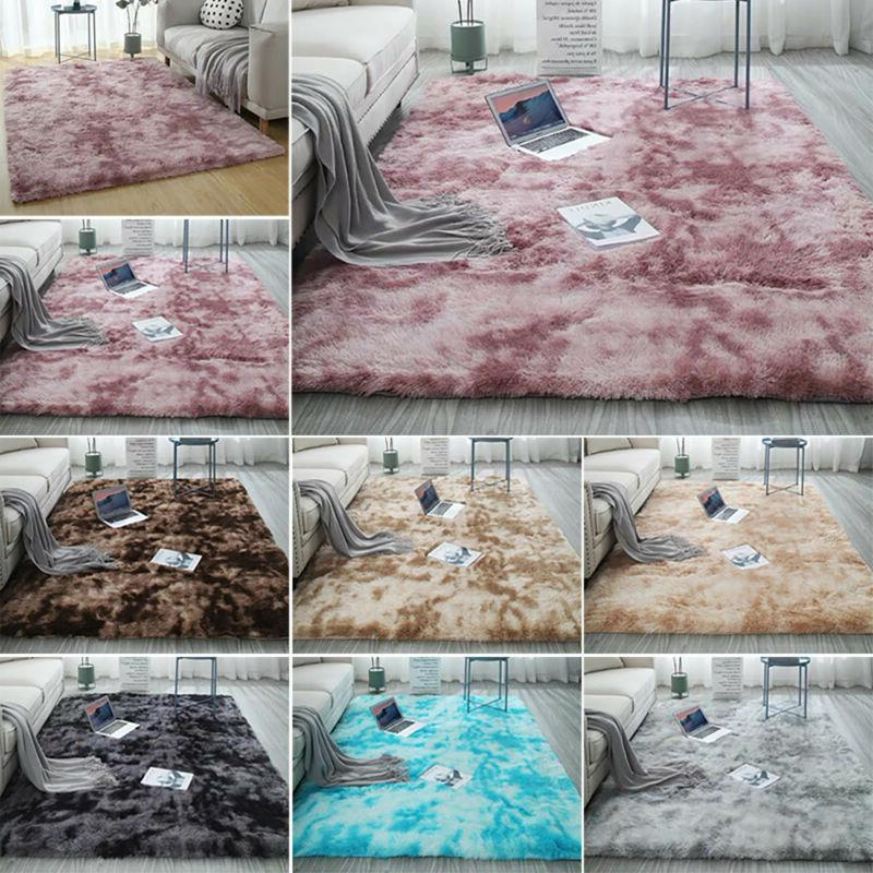 Shaggy Area Rugs Floor Carpet Living Room Bedroom Home Soft