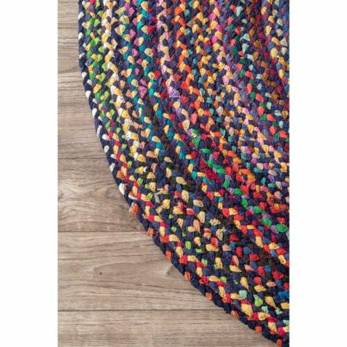 nuLOOM Made Braided in Purple Chindi