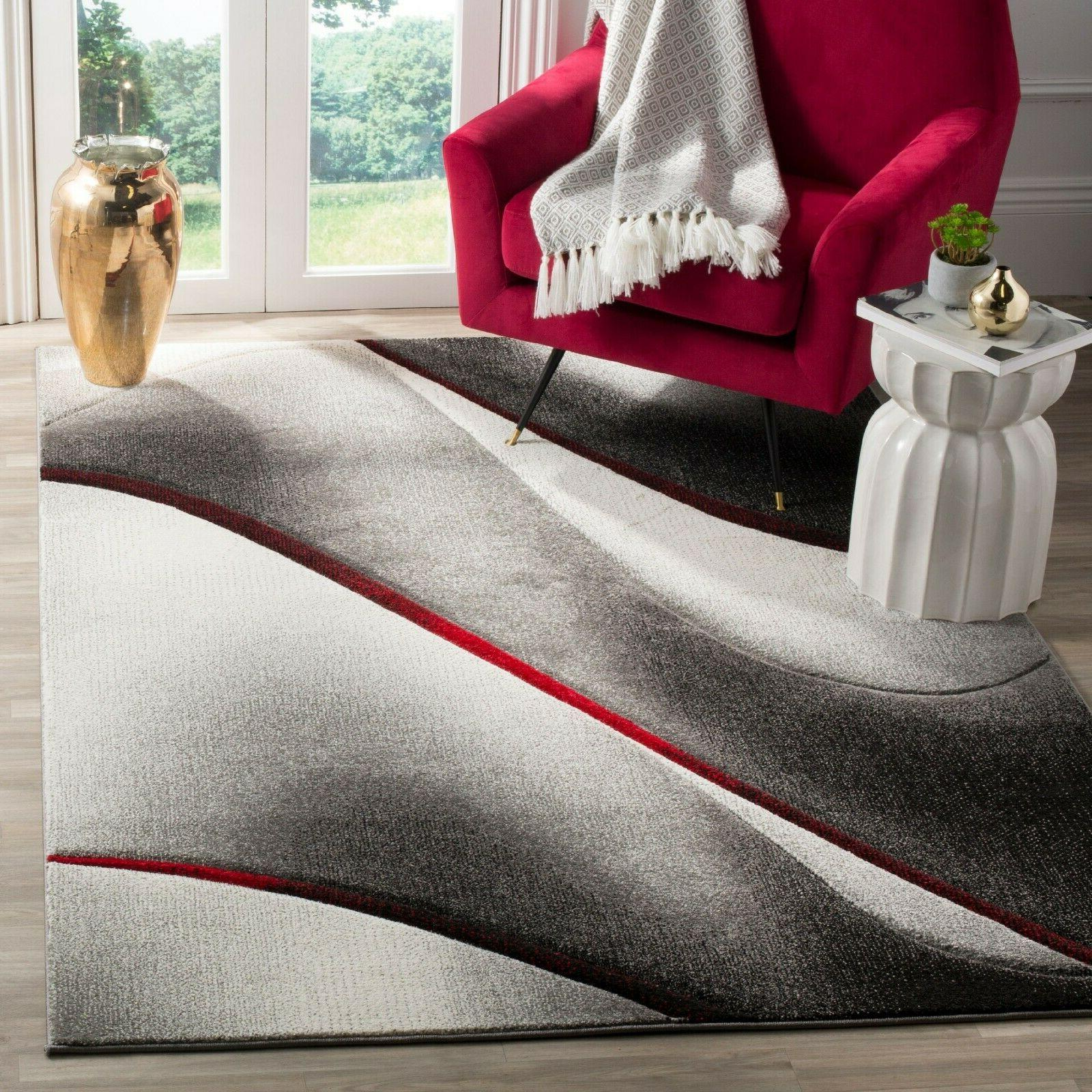 hollywood candyce abstract area rug or runner