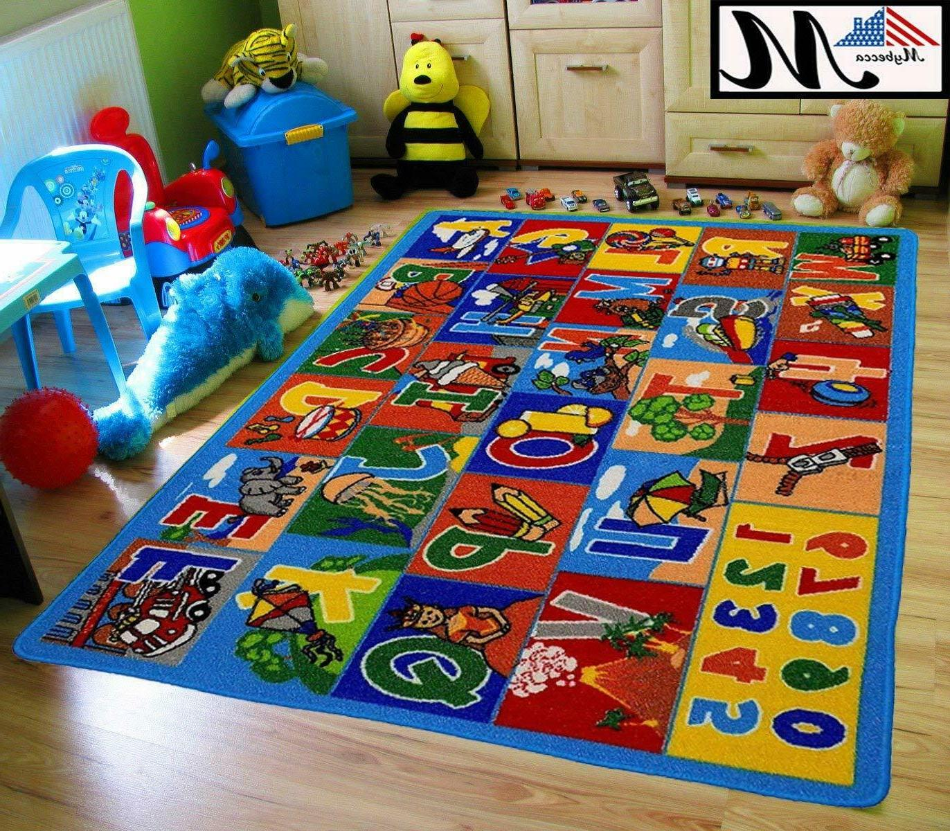 large classroom rugs for kids abc educational