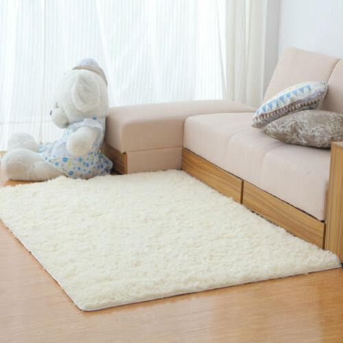 Shaggy Rugs Living Room Soft Large Home