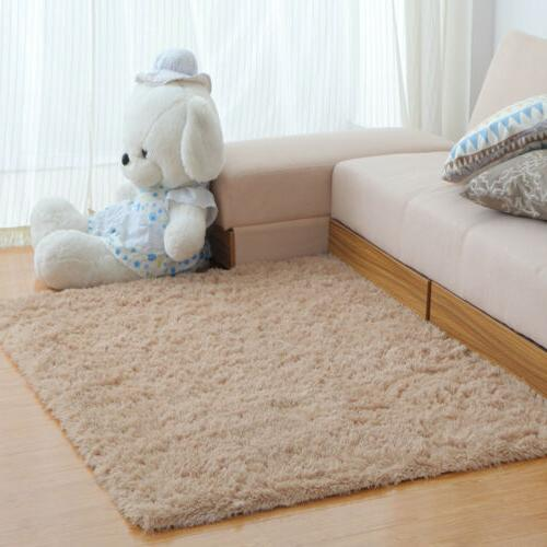 Shaggy Living Room Bedroom Rugs Soft Large Rug Home