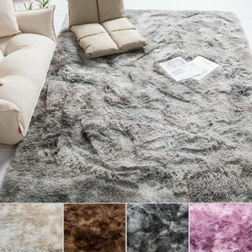 Soft Fluffy Large Floor Bedroom Area Rugs