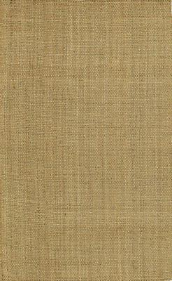 Surya Handmade Natural Jute 4x6 Solid Brown Area Rug - Appro