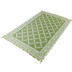 Lighted Reversible Outdoor Patio Area Rug