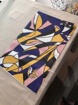 Minnesota Vikings Abstract Starter Mat Area Rug New With Tag