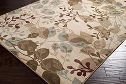 Furnish my Place Modern Oriental Floral Area Rug, Prism