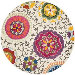 Safavieh Monaco Collection MNC233A Modern Colorful Floral Iv