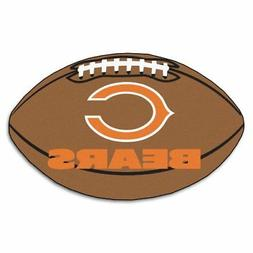 NEW FANMATS NFL Chicago Bears Nylon Face Football Rug FREE2D