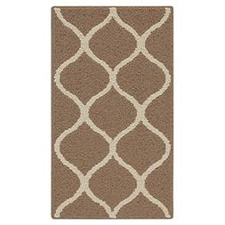 Kitchen Rugs, Maples Rugs  1'8 x 2'10 Non Slip Padded Small
