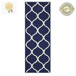 Maples Rugs Rebecca Contemporary Runner Rug Non Slip Hallway