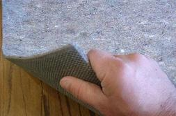 Rug Gripper Non Slip Recycled Fiber Rug Pad Felt and Rubber
