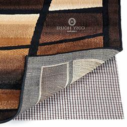 Rug Pad Non Skid Gripper with Non-Slip Padding for Area Rugs
