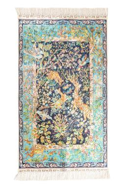 Silk Touch Turkish Area Rug, Non Skid, Washable Rug 3x5 Entr