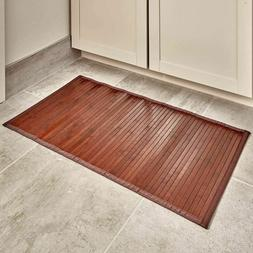 Small Bamboo Rug For Kitchen Toilet Bath Runner Rugs Bathroo