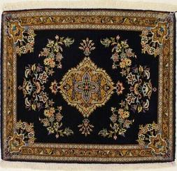 Square High KPSI Traditional Design 3X3 Fine Wool Rug Orient