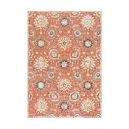 Surya SRE1002-5373 Serene Area Rug Pink and Neutral
