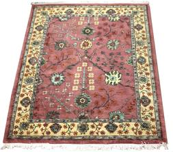 8x10 Oriental Area Rugs Handmade Wool Traditional Pink