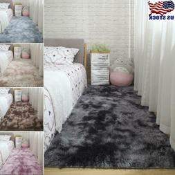 US Soft Fluffy Large Rugs Floor Carpet Living Room Bedroom A
