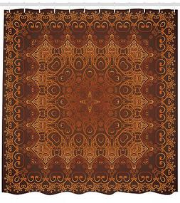 Vintage Lacy Persian Arabic Pattern on Palace Carpet Image S