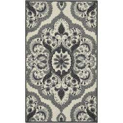 "Maples Rugs Vivian Accent Rug, Gray, 18"" x 210"""