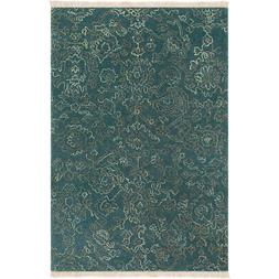 Surya WLG9004-23 Wilmington 36 X 24 inch Navy and Teal Area